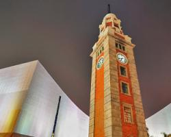 前九廣鐵路鐘樓 Hong Kong Clock Tower